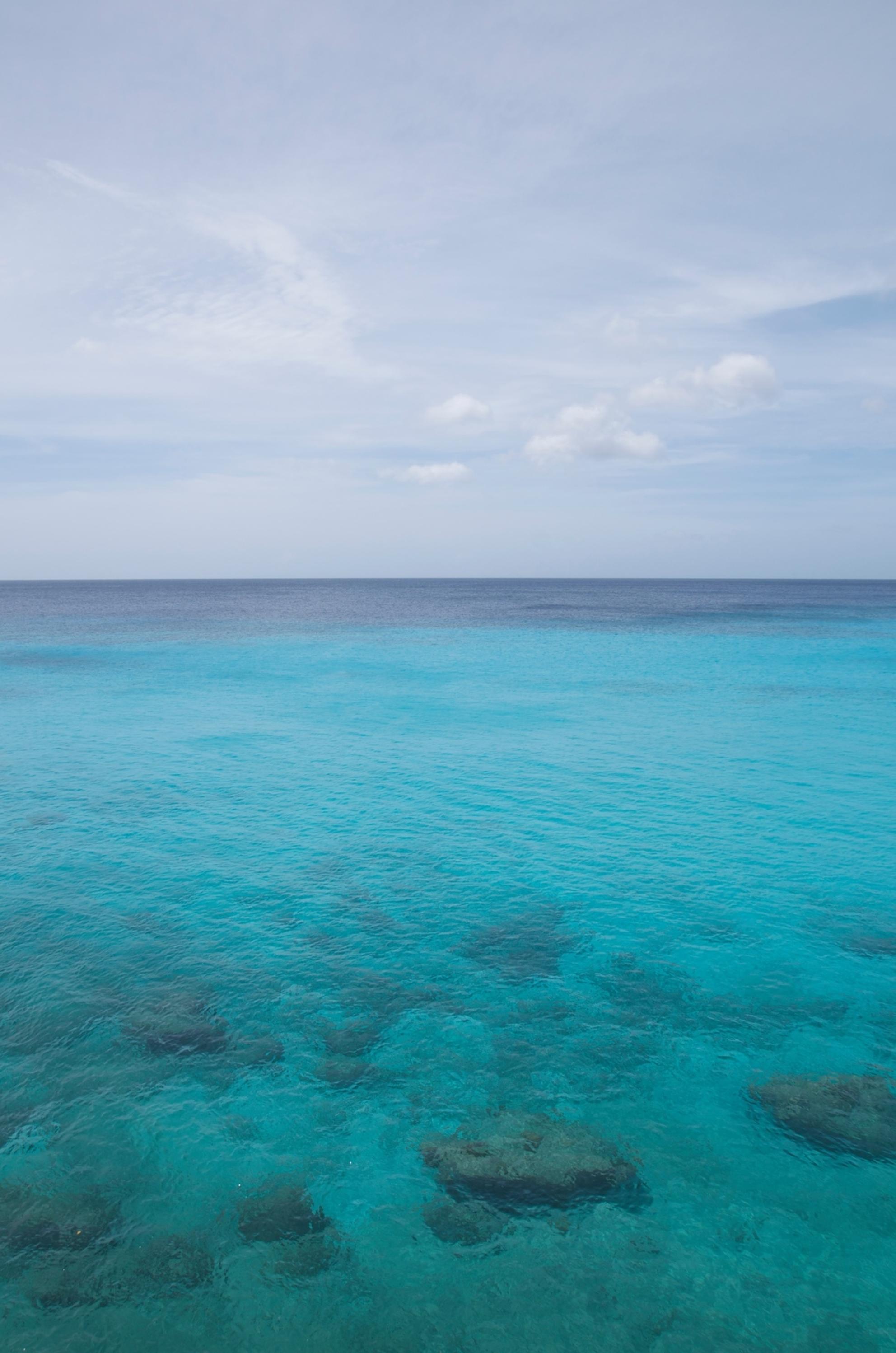 2014 Oktober Curacao - Grote Knip _DSC4634 - Serenity - foto door taat11 op 08-05-2016 - deze foto bevat: lucht, blauw, zon, zee, water, aqua - Deze foto mag gebruikt worden in een Zoom.nl publicatie