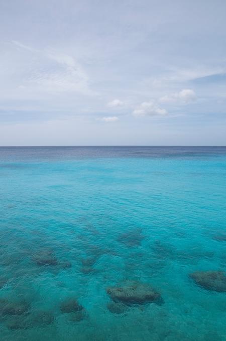 2014 Oktober Curacao - Grote Knip _DSC4634 - Serenity - foto door taat11 op 08-05-2016 - deze foto bevat: lucht, blauw, zon, zee, water, aqua