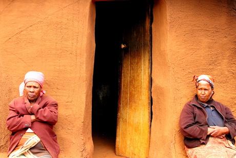 Zusters in Lesotho Zuid Afrika