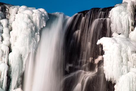 öxararfoss waterval