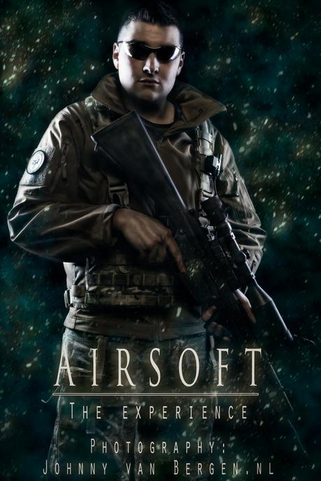 Intergalactic (Airsoft) Soldier.