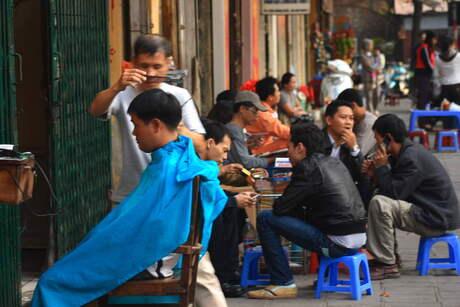Straatleven Hanoi