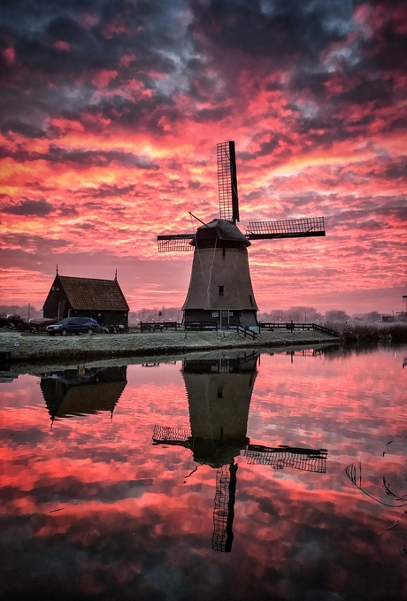 Sunset in Alkmaar