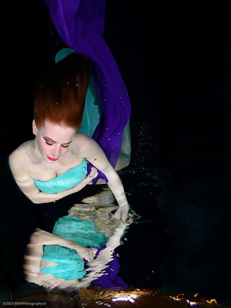 Onderwater nimf Kim