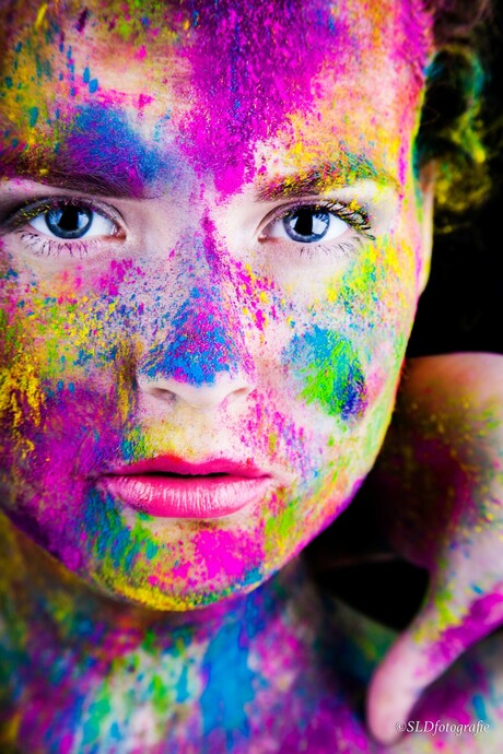 Colour your life! by SLDfotografie, model: Fabienne Schriek, MUA: Make you up by Romee