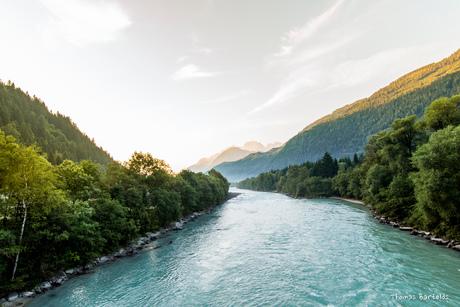 Vlucht over de Isle, Oostenrijk