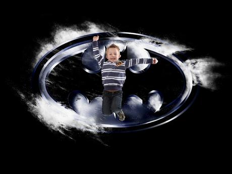 Kleine BatMan Fan