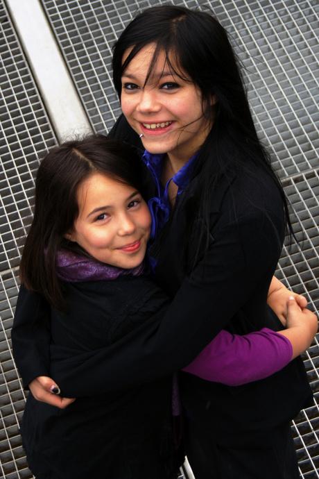 Mandy en Elise