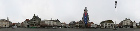Grote markt Bergen op Zoom