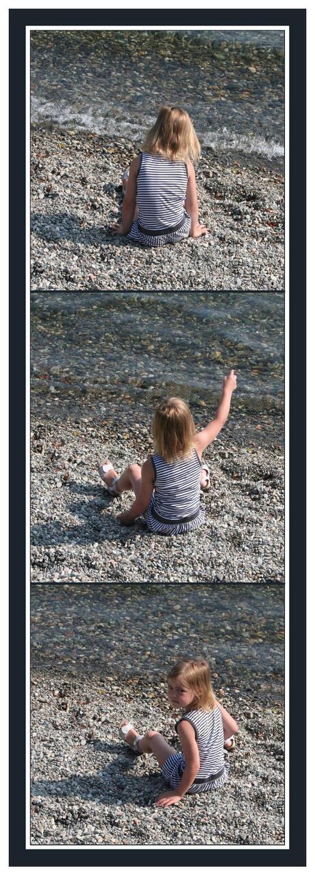 stenen gooien...