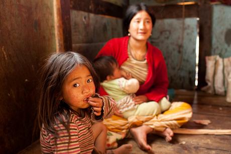 At home, Bhutan