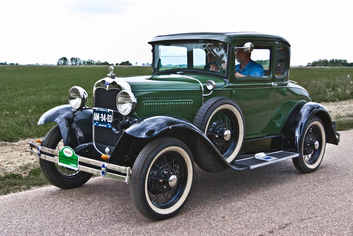 Ford Model A Coupé 1930 (8113) - 1930 Ford Model A Series Model 45B Coupé  [url]https://www.flickr.com/photos/photiste/45984517991/in/photolist-2gSEhEW-NUM9BV-PHTLsP-2jTMNN2-VcU8gJ - foto door clay op 24-12-2020 - deze foto bevat: auto, oldtimer, straatfotografie, ford, evenement, 1930, clay, vintage transport, amerikaanse oldtimer, rondje gaasterland, wijckel - nederland, ford model a coupé, ford model a series model 45b coupé
