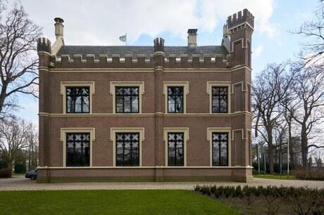 Kasteel De Schaffelaar (noordwestgevel)
