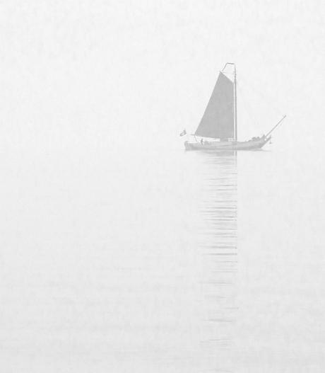 Mist IJsselmeer