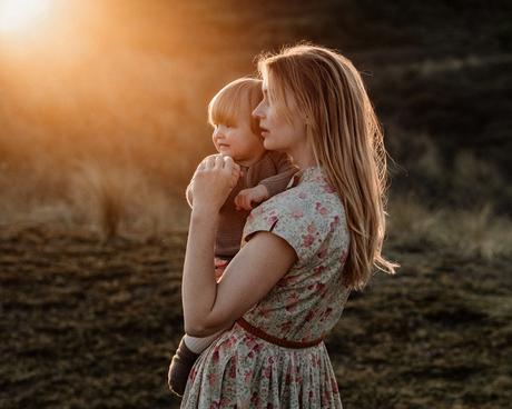 Sunset motherhood