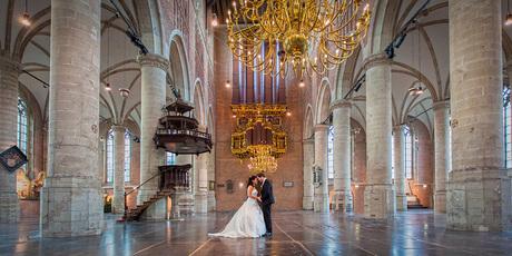 Sint pieterskerk / leiden