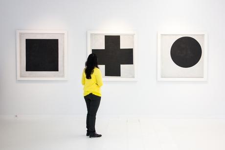 Malevich bezoeker