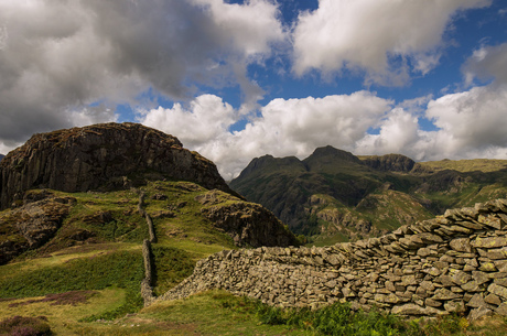 Lingmoor Fell in The Lake District