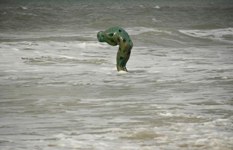 Beeld in zee