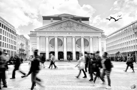 Brussel - De Munt (Multi Exposure)