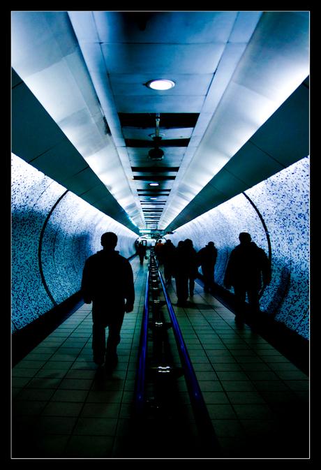 Shadows walking the sub