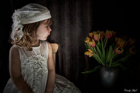 Het tulpenmeisje