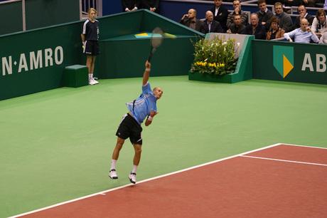 ABNAMRO tennistoernooi ; your out