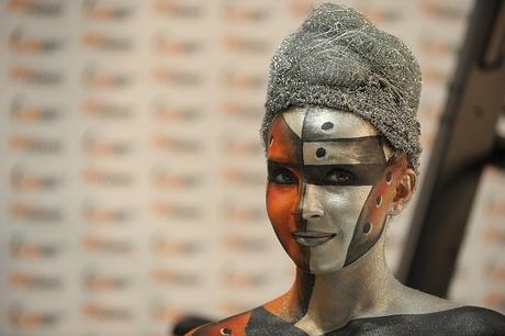 Photokina 2010, bodypaint