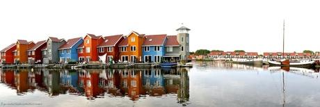 Panorama Reitdiep Groningen