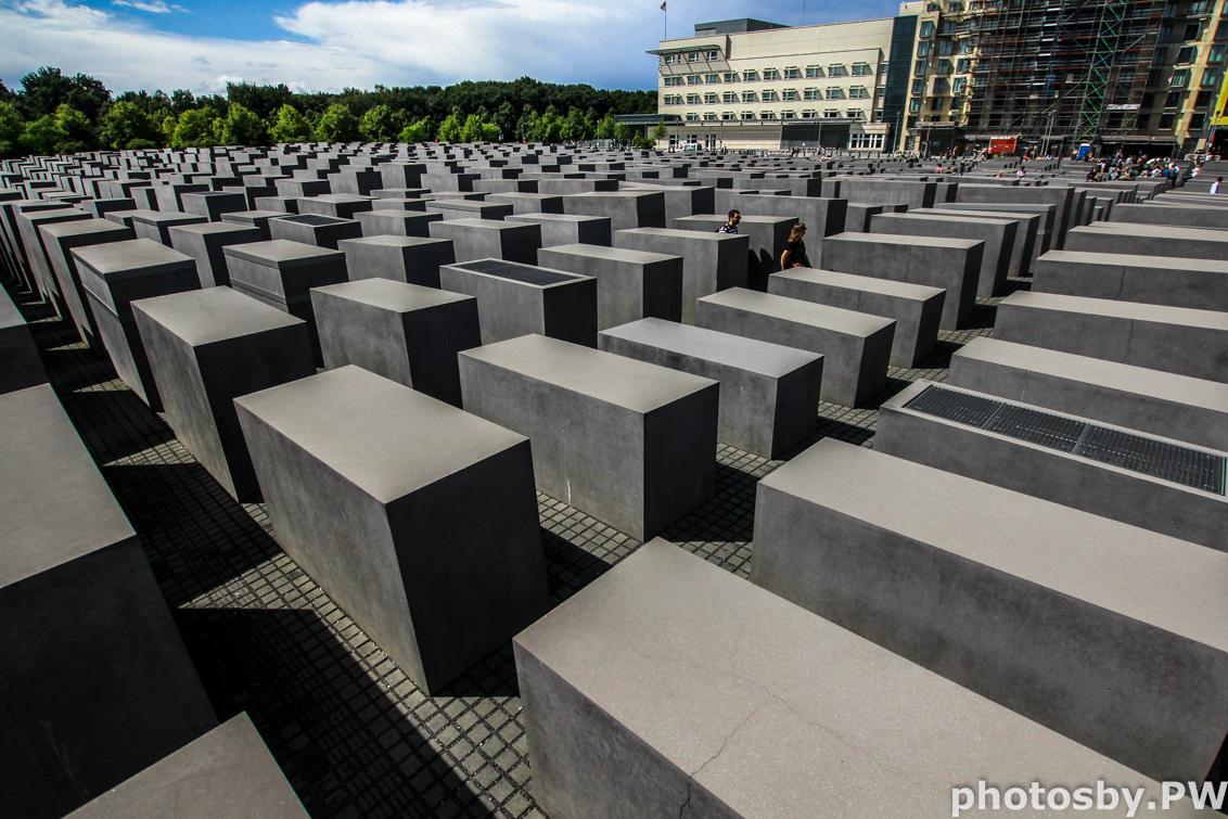 Holocaust monument Berlijn - - - foto door PeterWesterik op 11-08-2016 - deze foto bevat: monument, kunst, berlijn, holocaust