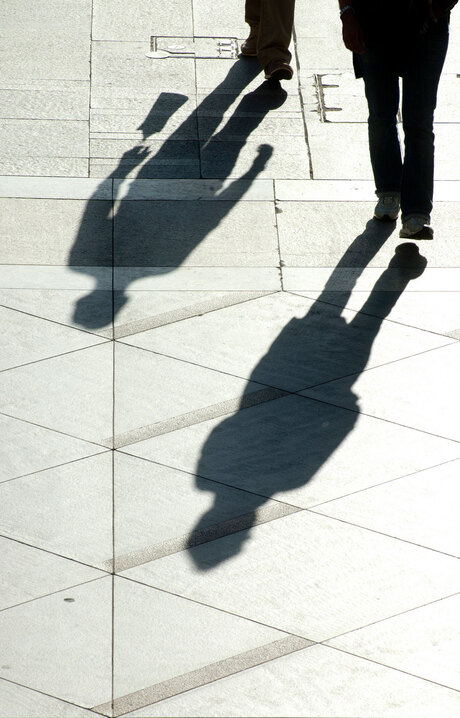 street photography- shadows