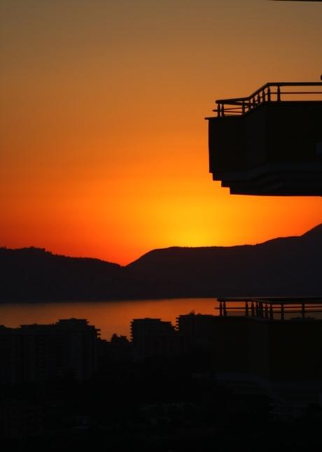 Zonsondergang Turkije2