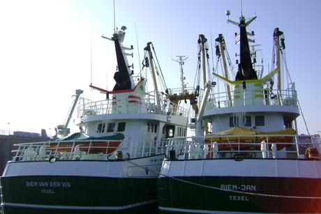 boot genomen in oudeschild
