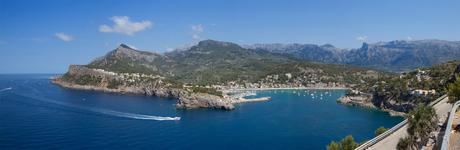Panorama haven Soller (Mallorca)