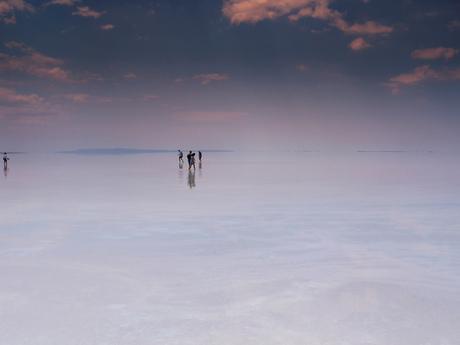 het zout meer in Turkye