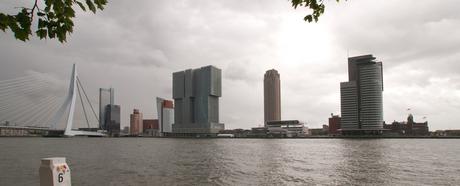 Zicht op Rotterdam Zuid