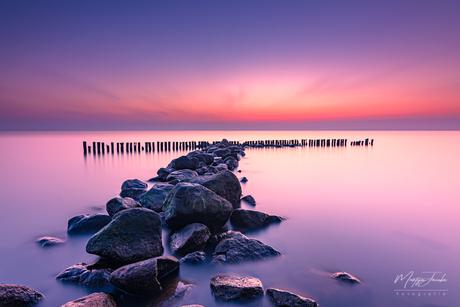 Prachtige zonsopkomst, Enkhuizen