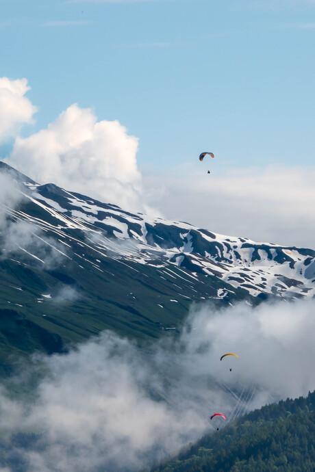 Paragliden @ Montchavin