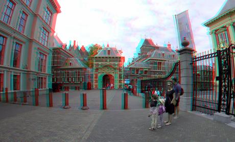 Mauritspoort Binnenhof den haag 3D GoPro