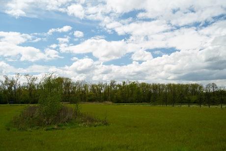 Wolken in mei