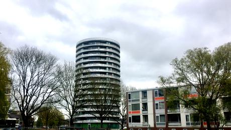 de nieuwe Selwerd flat