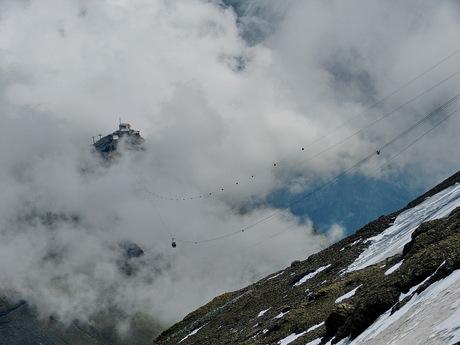 Schilthorn 2970 meter hoog Zwitserland.