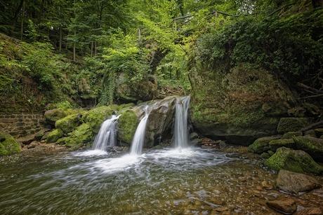 Schiessentümpel waterval, Luxemburg