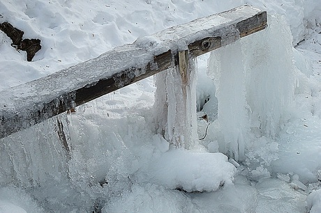 Bevroren bron