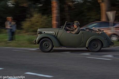 op weg naar Arnhem