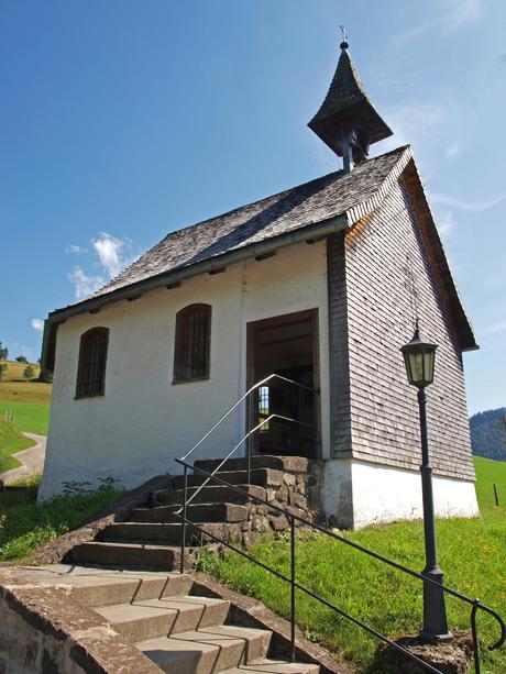 Kerkje bij Oberstaufen, Allgau, Duitsland