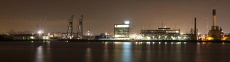 Rotterdam by Night - pand Cofely