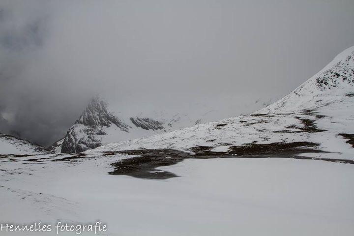 Sneeuw Val-d'lsere - Bijzonder landschap in de zomer - foto door hennelies op 23-06-2016 - deze foto bevat: sneeuw, bergen