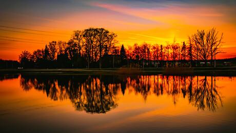 Sunset Hengelo 26-02-19