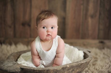 Down - Zoe 11 months -